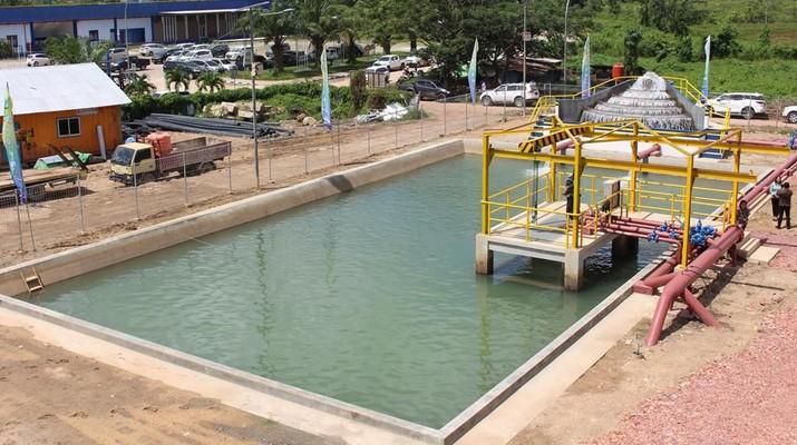 Anak Perusahaan BUMI, KPC, Menyediakan Air Minum Bersih untuk 8.000 Keluarga di Kabupaten Kutai Timur, Kalimantan Timur (Dok. BUMI)