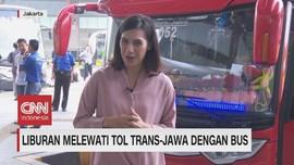 VIDEO: Liburan Melewati Tol Trans-Jawa Dengan Bus