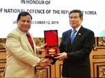 Intip Gaya Prabowo Sambut Kunjungan Menhan Negeri K-Pop