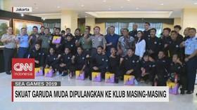 VIDEO: Skuat Garuda Muda Dipulangkan ke Klub Masing-masing