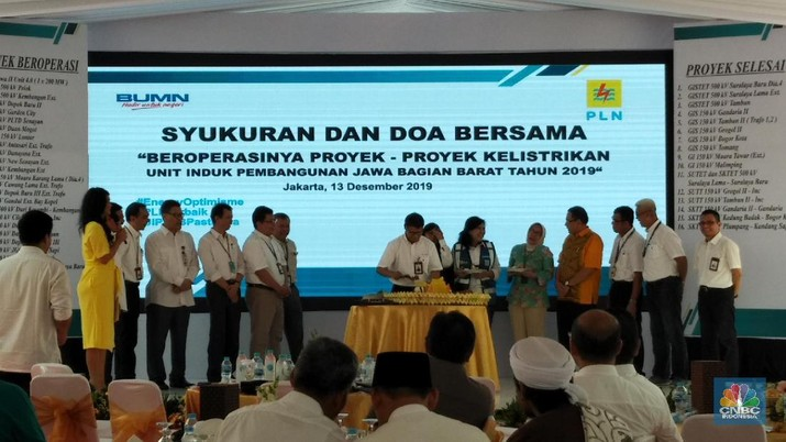 PT PLN Unit Induk Pembangunan Jawa Bagian Barat (JBB) menyebut ada sejumlah tantangan tahun depan, di mana ada 109 proyek yang harus diselesaikan.