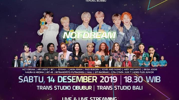 HUT 18 Transmedia besok bakal diramaikan oleh NCT Dream, yuk ikut rasakan kemeriahannya di Trans Studio Cibubur.