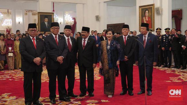 Jokowi Resmi Lantik 9 Anggota Wantimpres