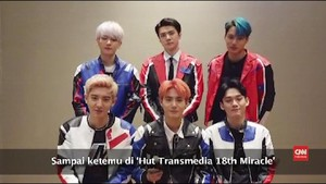 VIDEO: EXO Tunggu EXO-L di HUT 18 Transmedia