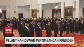 VIDEO: Pelantikan Dewan Pertimbangan Presiden