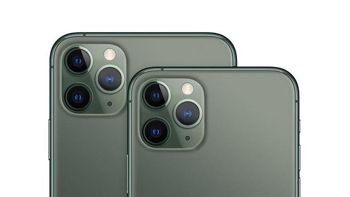 iPhone 11 Pro Max dan iPhone 11 Pro (dok. Apple)