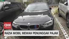 VIDEO: Razia Mobil Mewah Penunggak Pajak