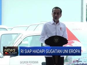 Jokowi Klaim Tak Gentar Hadapi Gugatan Uni Eropa