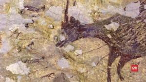 VIDEO: Lukisan Tertua di Dunia Ditemukan di Gua Sulawesi