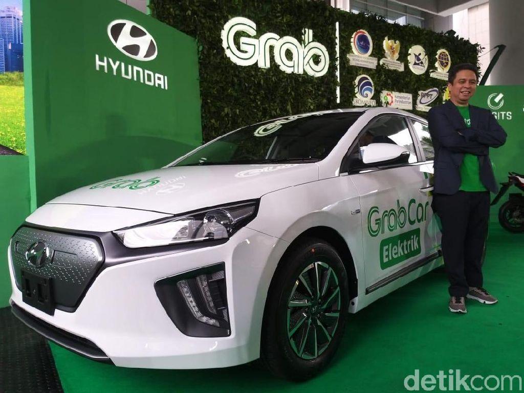 Menurut President Director of Hyundai Motor Manufacturing Indoensia, Yoon Seok Choi, Asia Tenggara menjadi pasar yang memiliki perkembangan yang cepat dan besar untuk industri EV (Electric Vehicle). Foto: Luthfi Anshori/detikOto