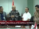 Ini MoU Krakatau Steel dengan Lotte Chemical Indonesia