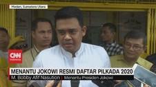 VIDEO: Menantu Jokowi Resmi Daftar Pilkada 2020