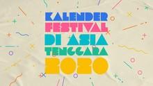 INFOGRAFIS: Kalender Festival di Asia Tenggara 2020