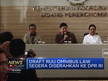 Pemerintah Genjot Penyelesaian RUU Sapu Jagat