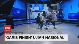 VIDEO: 'Garis Finish' Ujian Nasional