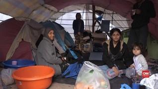VIDEO: Perjuangan Perempuan Bertahan Hidup di Kamp Yunani