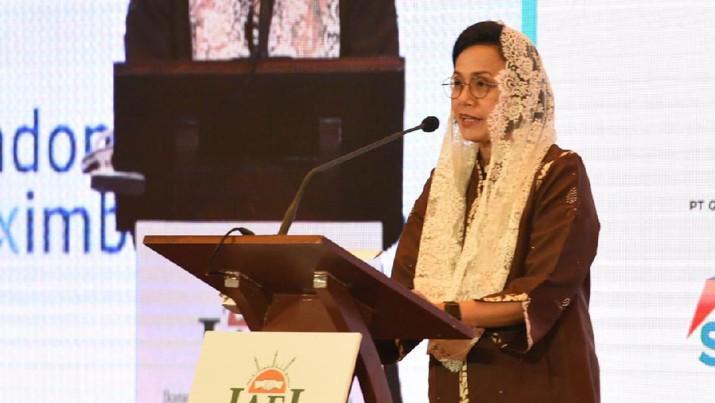 Ini tantangan pembangunan ekonomi Islam di mata Sri Mulyani.