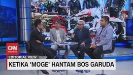VIDEO: Ketika 'Moge' Hantam Bos Garuda