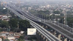 FOTO: Menengok Tol Layang Japek II yang Pangkas Kemacetan
