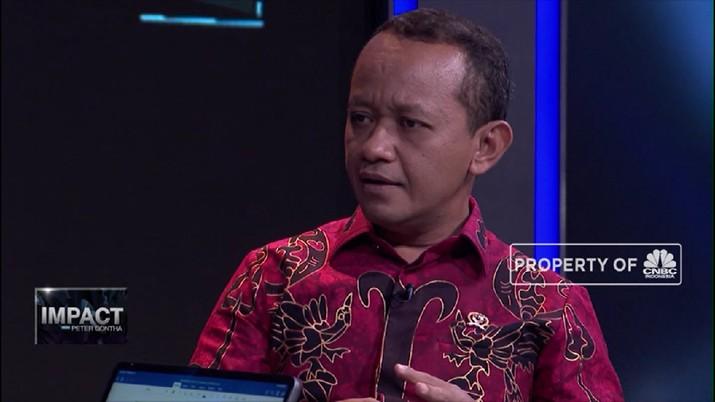 Bahlil mengatakan pada 2019 terjadi sentimen yang kurang baik bagi iklim investasi di Indonesia.