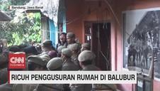 VIDEO: Ricuh Penggusuran Rumah di Balubur