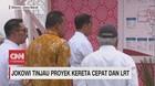 VIDEO: Jokowi Tinjau Proyek LRT & Kereta Cepat