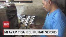 VIDEO: Hemat di kantong, Ada Mi Ayam Cuma Rp.3.000/Porsi