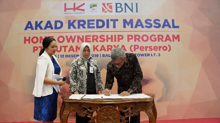 PT Hutama Karya memfasilitasi karyawannya untuk dapat memiliki hunian sendiri melalui Program Pembiayaan kepemilikan Hunian bertajuk Home Ownership Program.