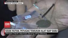 VIDEO: Sidak Rutan, Petugas Temukan Alat Isap Sabu