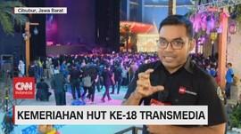 VIDEO: Puncak Perayaan HUT Transmedia Hari Pertama Dimulai