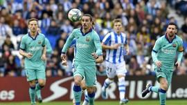 Hasi Liga Spanyol: Barcelona Ditahan Real Sociedad 2-2