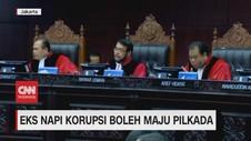 VIDEO: Mantan Napi Korupsi Boleh Maju Pilkada
