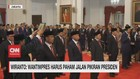 VIDEO: Presiden Jokowi Lantik 9 Anggota Wantimpres