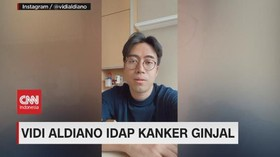 VIDEO: Vidi Aldiano Idap Kanker Ginjal