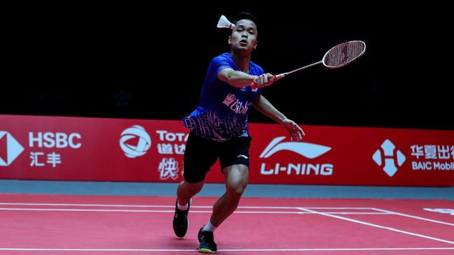 3 Kunci Ginting Kalahkan Chen Long di BWF World Tour Finals