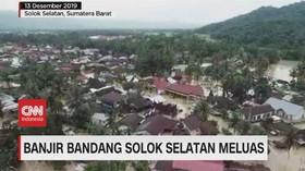 VIDEO: Banjir Bandang Solok Selatan Meluas, 1 Balita Tewas