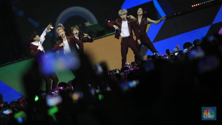 Salah satu pengisi acara yakni boyband NCT Dream hadir eksklusif di Trans Studio Cibubur.