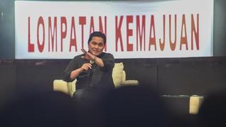 Erick Thohir Sudah Kantongi Nama Direksi Baru Garuda