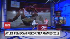 VIDEO: Sapwaturrahman, Atlet Pemecah Rekor Sea Games 2019