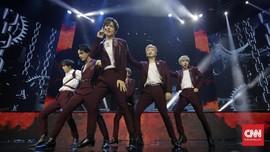 FOTO: Keseruan JKT48 hingga NCT Dream di HUT 18 Transmedia