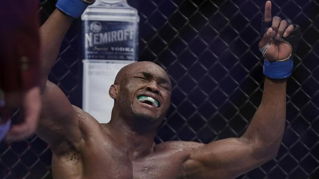 Kamaru Usman Ingin Duel Lawan GSP di UFC