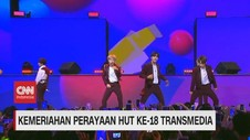 VIDEO: Kemeriahan Perayaan HUT ke-18 Transmedia