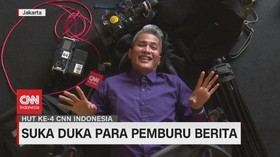 VIDEO: Di Balik Layar Tim Liputan CNN Indonesia