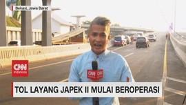 VIDEO: Gratis, Tol Layang Japek II Mulai Beroperasi