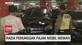 VIDEO: Razia Penunggak Pajak Mobil Mewah Menyasar Ke Mall