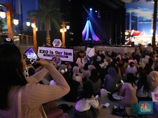EXO Masih Latihan, Fans Sudah Heboh di HUT Transmedia