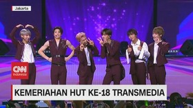 VIDEO: NCT Dream Sukses Meriahkan HUT Ke-18 Transmedia