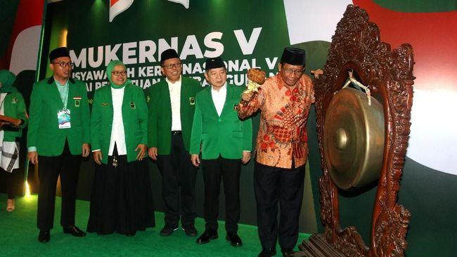 Mukernas PPP Minta Jokowi Jaga Hubungan dengan Ormas Islam