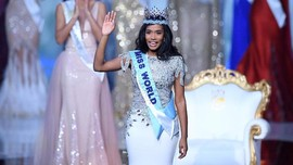 FOTO: Toni-Ann Singh Raih Mahkota Miss World 2019