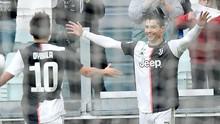 Hasil Liga Italia: Juventus Kalahkan Udinese, Ronaldo Dua Gol